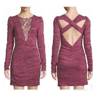 Free People Stylish Ruched Dress